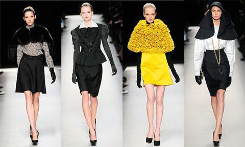 Модные блузки наступающей зимы 2010/2011