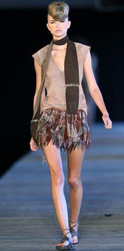 Модные вещи из кожи зимы 2010/2011