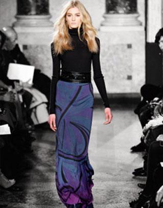 Актуальный зимний тренд – длинная юбка