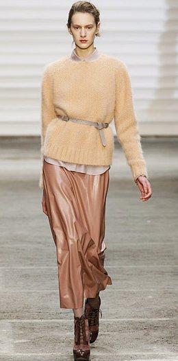 Описание: осенние модные 2012 кофты платья фото.