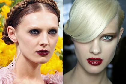 Модный макияж на Новый год 2011