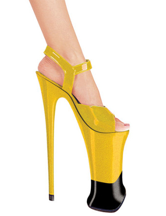 Туфли от Sky Heel на 23-сантиметровом каблуке