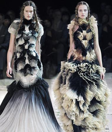 Модная коллекция Alexander McQueen весна-лето 2011
