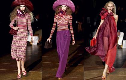 Модная коллекция Marc Jacobs весна-лето 2011