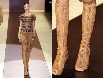 Модные вязаные вещи наступающего весенне-летнего сезона 2011