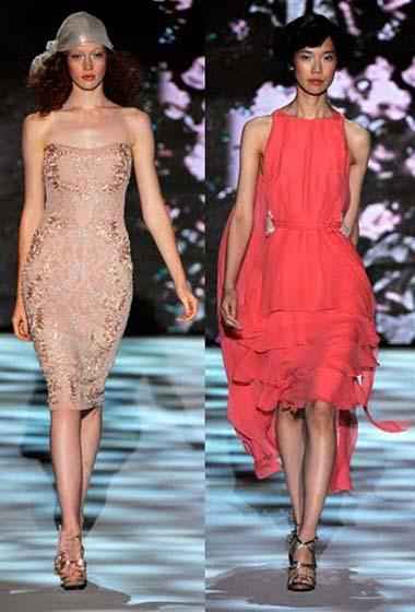 Модные платья весны 2011