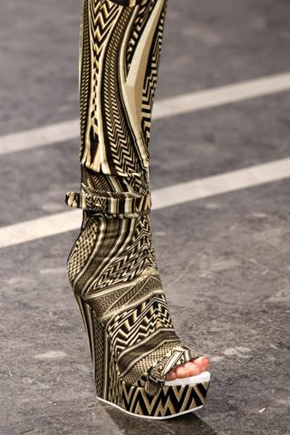 Самая модная обувь наступающей весны 2011