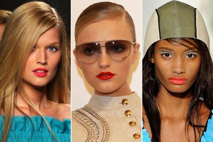 Модный макияж наступающей весны 2011