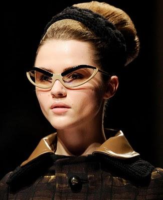 Модные очки 2011 года