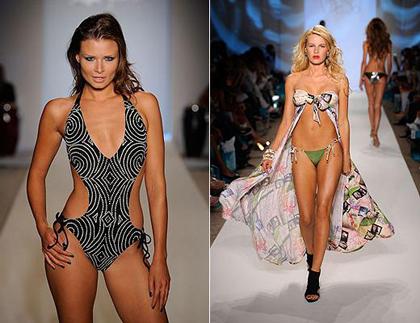 Модные купальники 2011 года