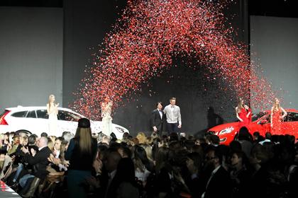Volvo-Неделя Моды в Москве. День первый. Торжественное открытие