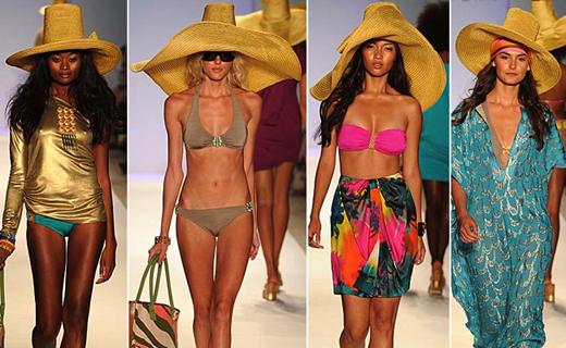 Модная пляжная одежда лета 2011
