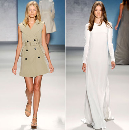 Модная одежда для офиса лето 2011