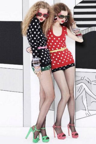 Модный тренд лета 2011 – принт «горошек»