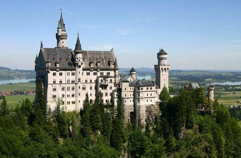Германия: Баварские замки