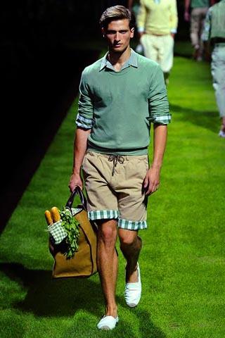Шорты для мужчин сезона весна-лето 2011
