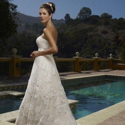 Как выбрать ткань для пошива свадебного платья?