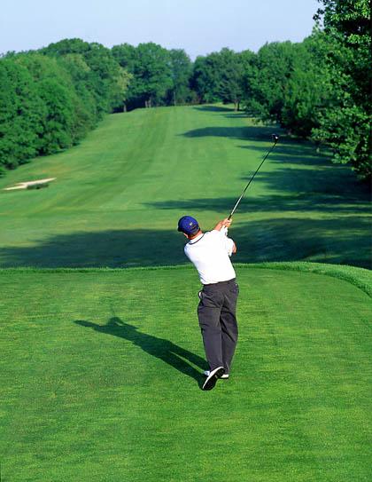 Модная игра в гольф
