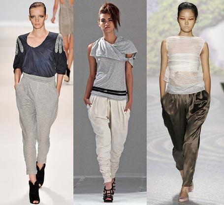 Модный тренд 2011 года: «гаремные» штаны