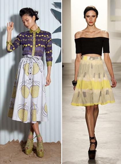 Самые модные юбки осень-зима 2011/1012