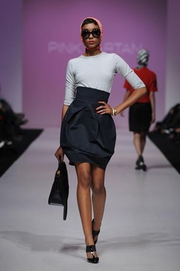 выкройка осенней юбки в пол 2012.