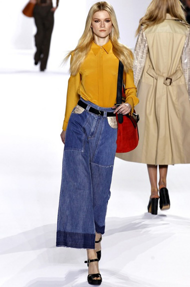 Самые модные джинсовые вещи осень 2011