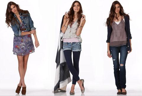 Коррекция фигуры худых женщин с помощью одежды