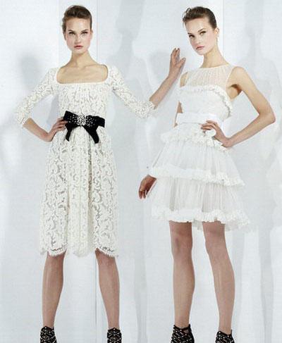 Актуальные тренды свадебной моды 2011-2012