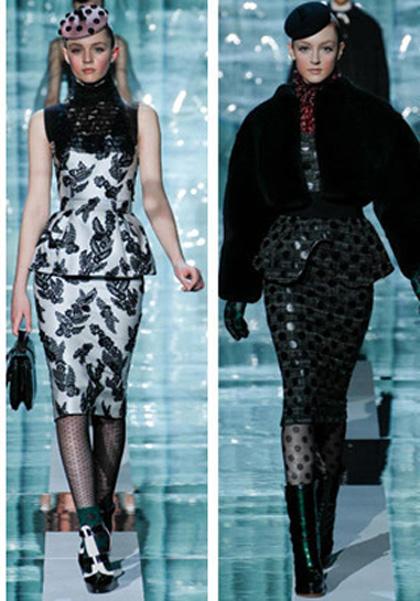 Модный тренд осени 2011 – набедренные оборки