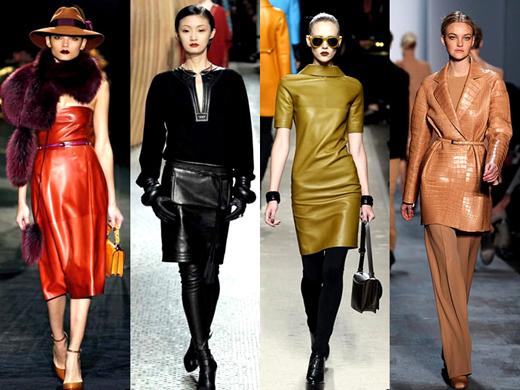 Модный тренд осени 2011 – вещи из кожи