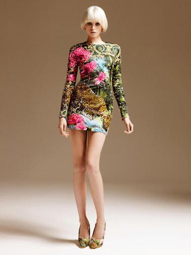 Коллекция Versace сезона осень-зима 2011-2012