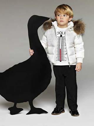 Модная детская одежда осень 2011