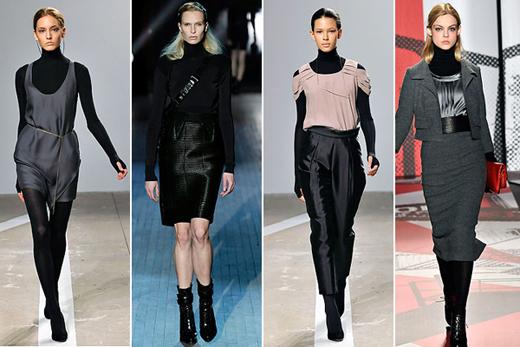 Модный тренд осень-зима 2011/2012 – водолазка