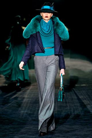 Модный мех осень-зима 2011-2012