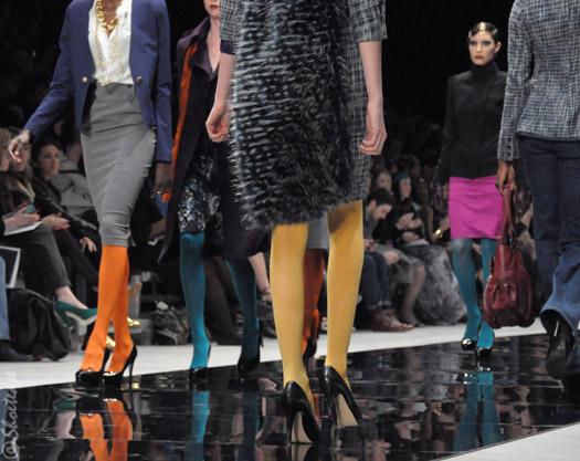 Модные колготы осень-зима 2011-2012