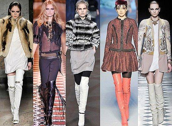 Модные зимние сапоги 2011-2012