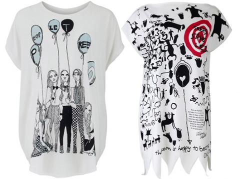 Модные футболки 2011-2012