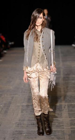 Модное золото осень-зима 2011/2012