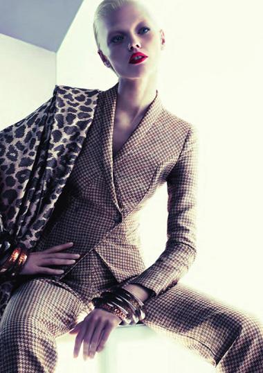 Звериный принт – модный тренд зимы 2011-2012