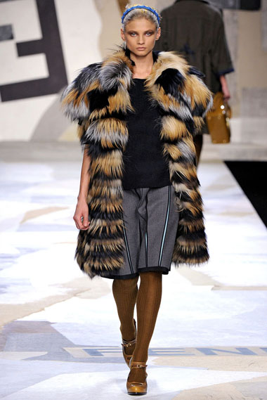 Модные жилеты осенне-зимнего сезона 2011/2012