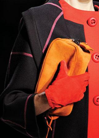 Модные перчатки зима 2011-2012