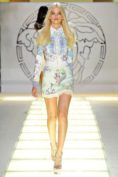 модные платья 2012 от дома версаче (34 фото) | Модные платья 2012