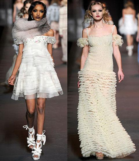 модные платья с хомутом новый год.