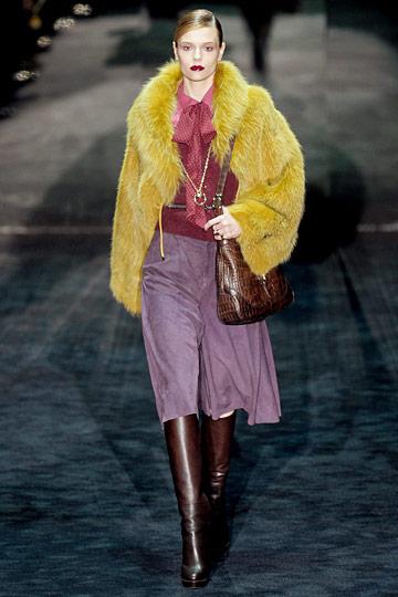 Модный тренд зимы 2011/2012 – психоделический мех