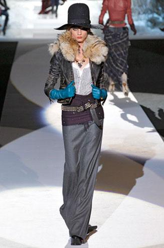 Модный тренд зима 2011/2012 – ковбойский стиль одежды