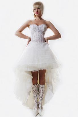 Выбрать свадебный наряд для зимы