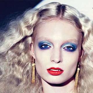 Новогодний макияж 2012