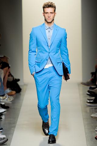 Мужская мода сезона весна-лето 2012