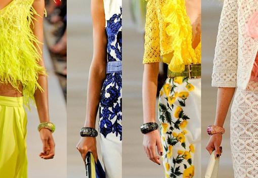 Модные браслеты весна-лето 2012