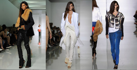 Модные брюки наступающей весны 2012